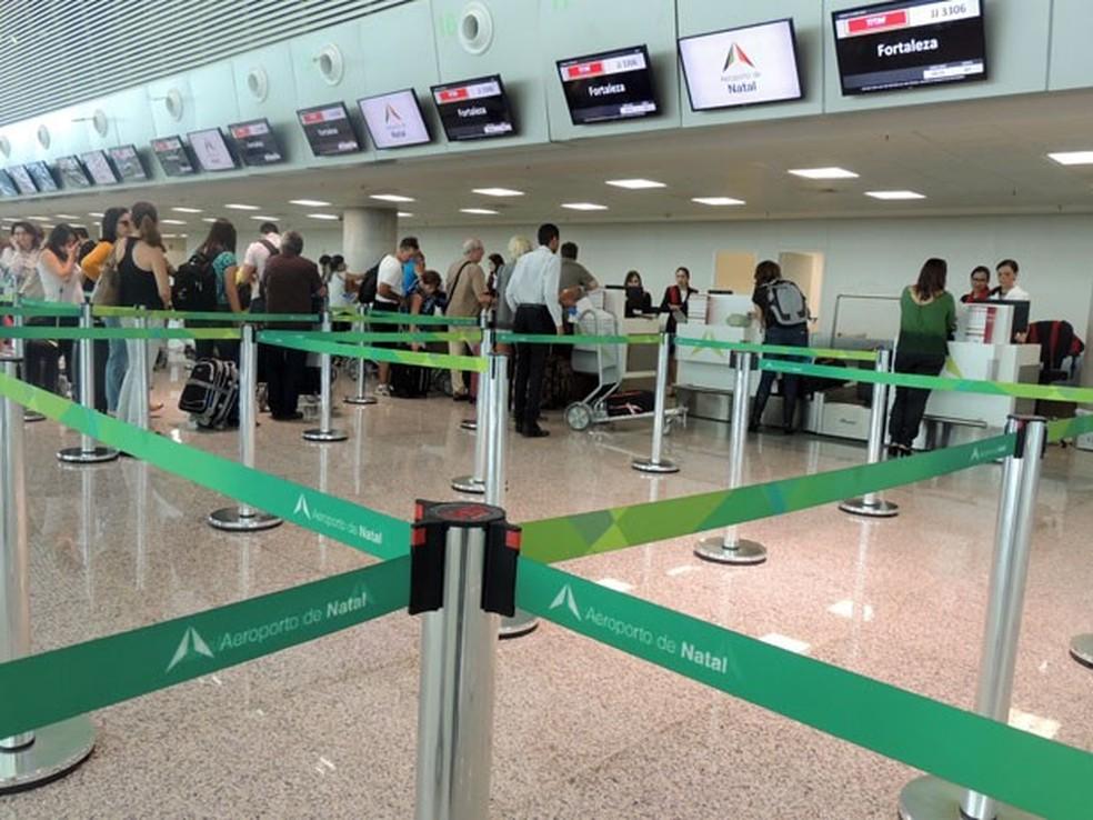 Rio Grande do Norte vai receber 568 voos extras em dezembro e janeiro — Foto: Fred Carvalho/G1