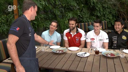 Da pista para a mesa, Rubens Barrichello abre restaurante e recebe colegas da Stock Car