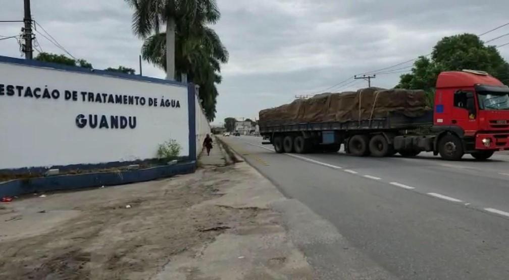 Estação de Tratamento Guandu — Foto: Divulgação/Cedae