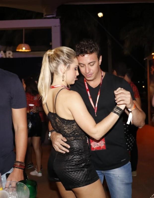 Jéssica Mueller e Flávio (Foto: Fred Pontes/Divulgação)