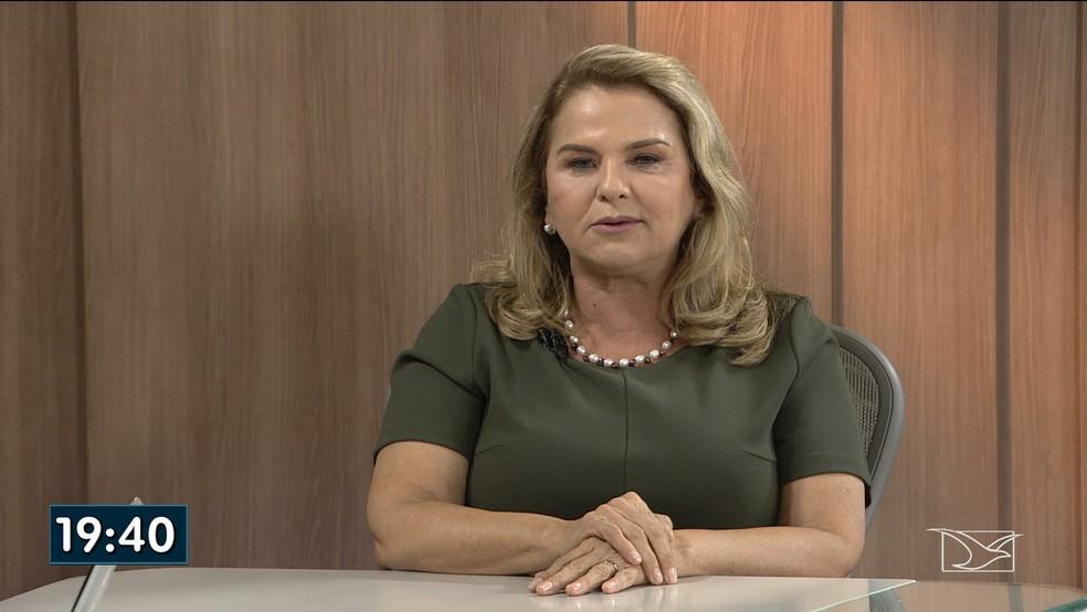 Maura Jorge foi a entrevistada desta quarta-feira (12) no JMTV 1ª edição — Foto: Reprodução/TV Mirante
