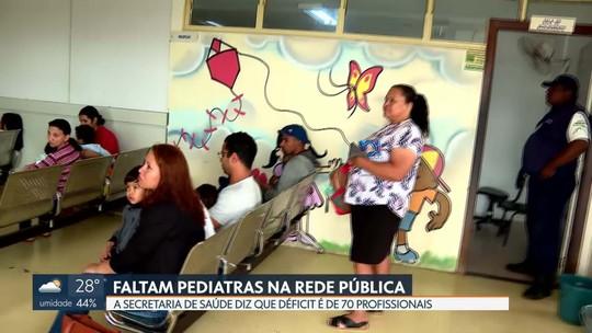 Faltam pediatras na rede pública de saúde