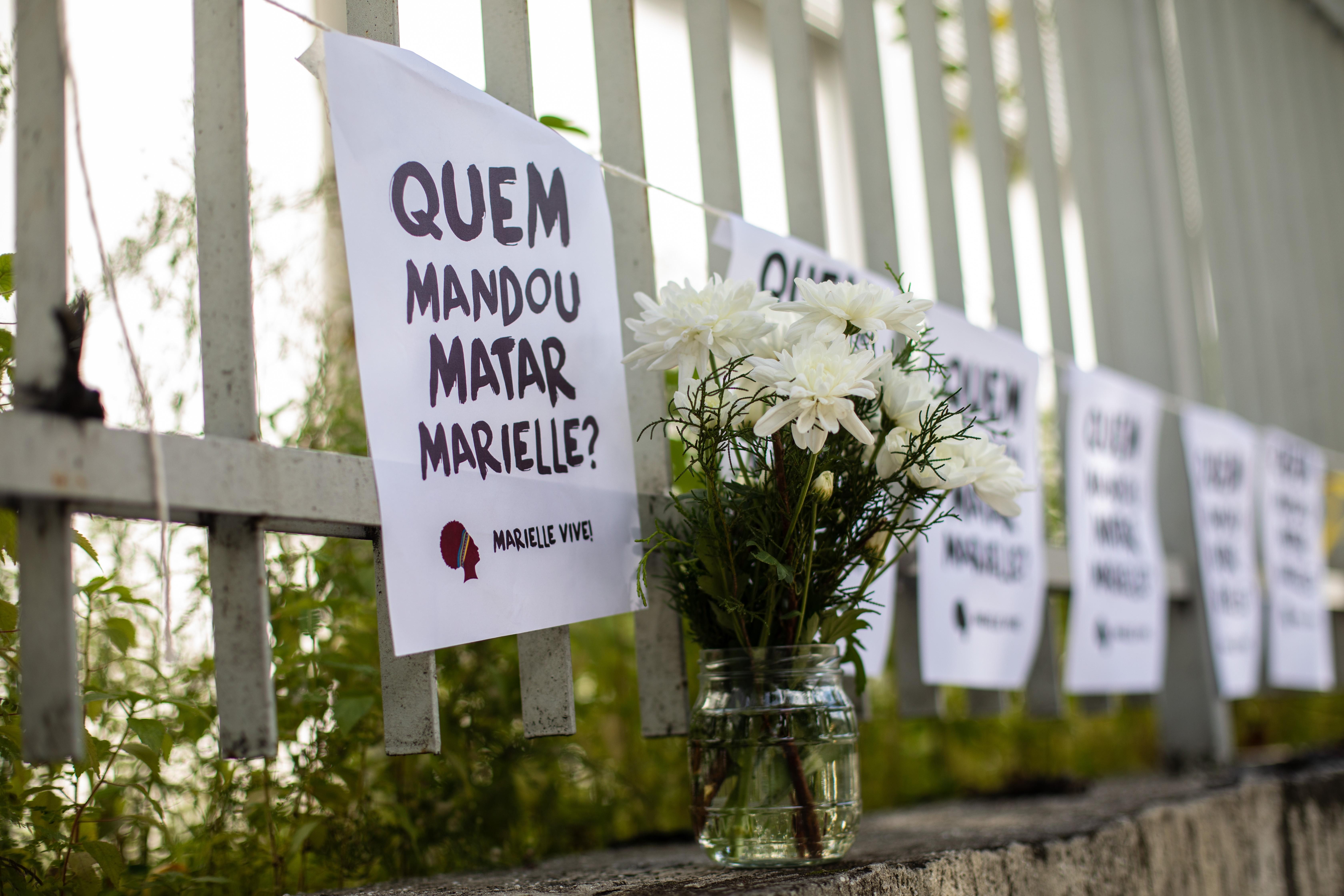 Marielle e Anderson foram mortos em março de 2018