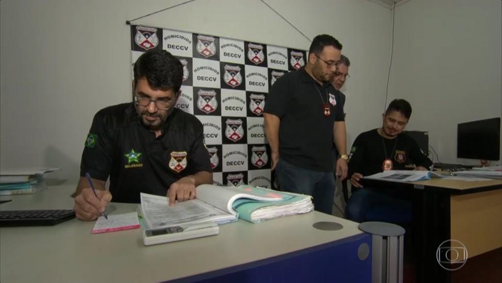 Força tarefa investiga plano de ataque a advogado (Foto: Rede Globo/Reprodução)