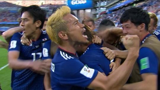 Gol do Japão! Inui bate no canto e deixa tudo igual contra Senegal