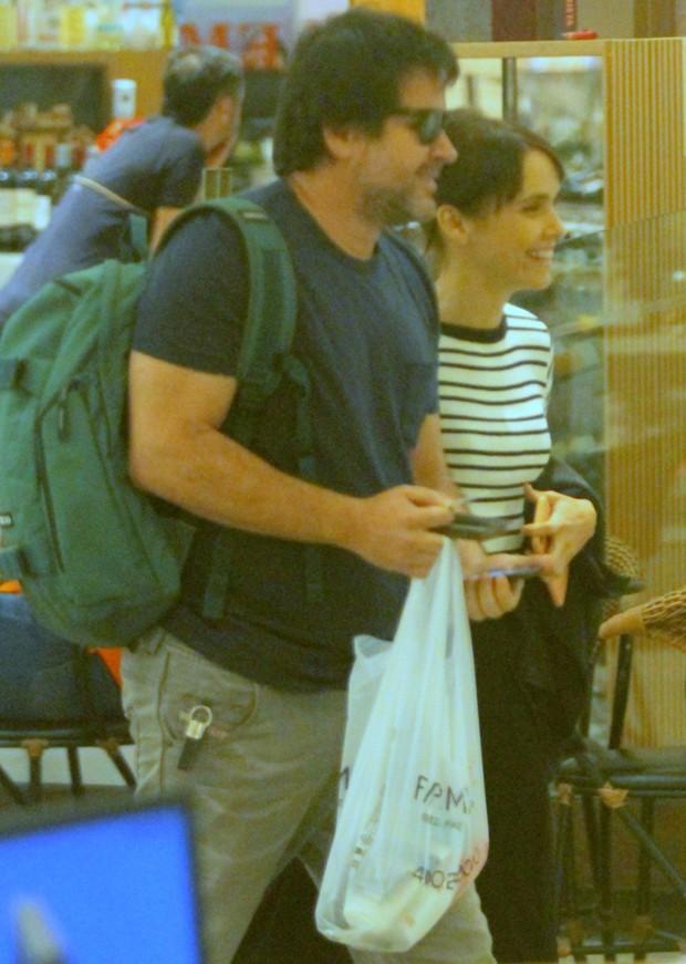 Murilo Benício e Débora Falabella (Foto: AgNews)
