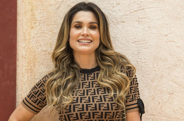 Flávia Alessandra (Foto: Estevam Avellar/TV Globo )