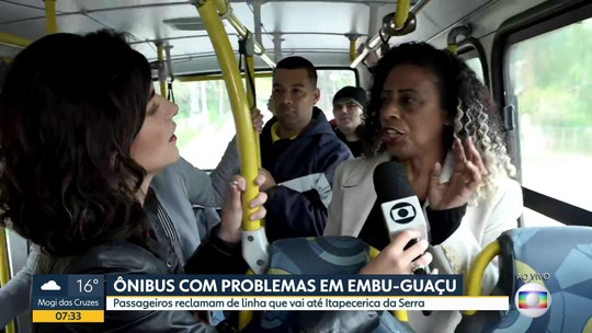 Problemas na linha de ônibus 811 da EMTU, que vai de Embu-Guaçu a Itapecerica da Serra