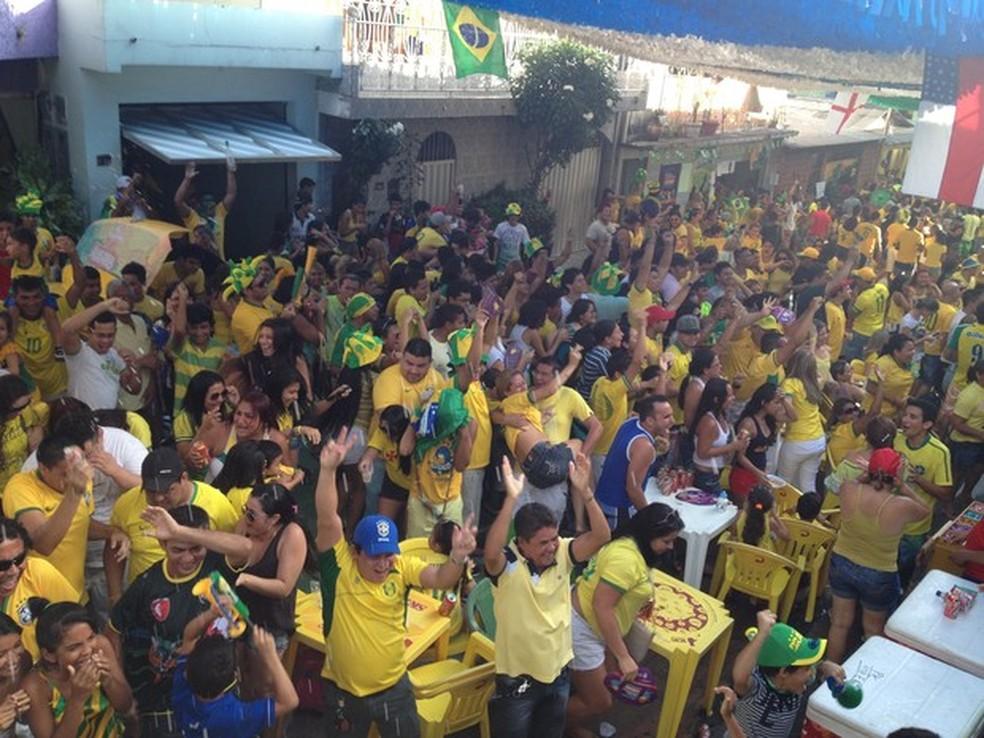 Ruas de Manaus irão realizar a transmissão dos jogos do Brasil por meio de telões (Foto: Foto: Abinoan Santiago)