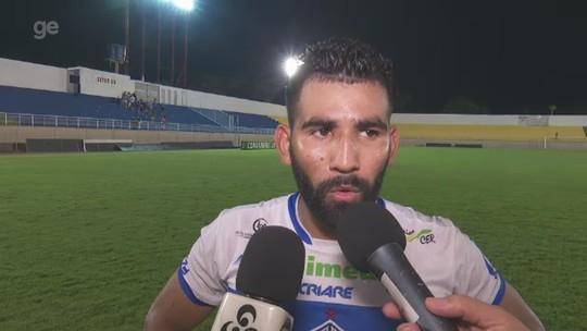 """""""Trabalhar mais forte em busca da classificação em Belém"""", diz autor de gol da vitória do Atlético-AC"""