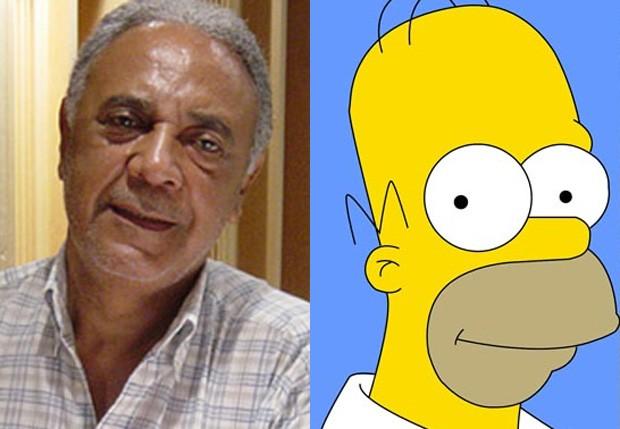 Waldyr SantAnna foi primeiro dublador de Homer Simpson (Foto: Reprodução)