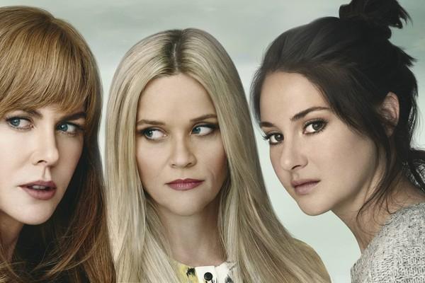 Nicole Kidman, Reese Whiterspoon e Shailene Woodley protagonizam os dramas de Big Little Lies (Foto: Divulgação)