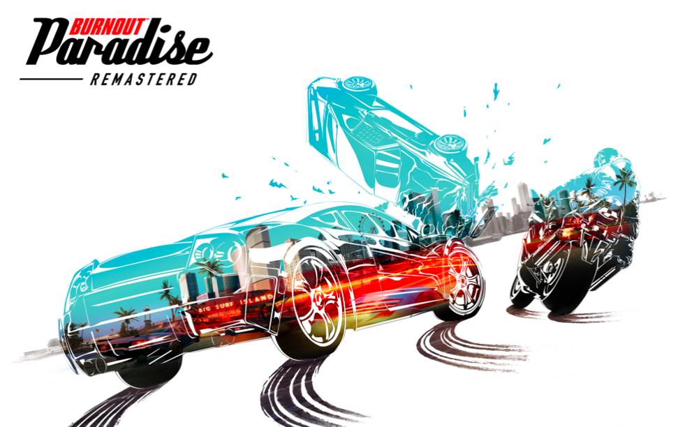 Burnout Paradise: Remastered é a versão comemorativa de 10 anos do lançamento (Foto: Divulgação/EA)