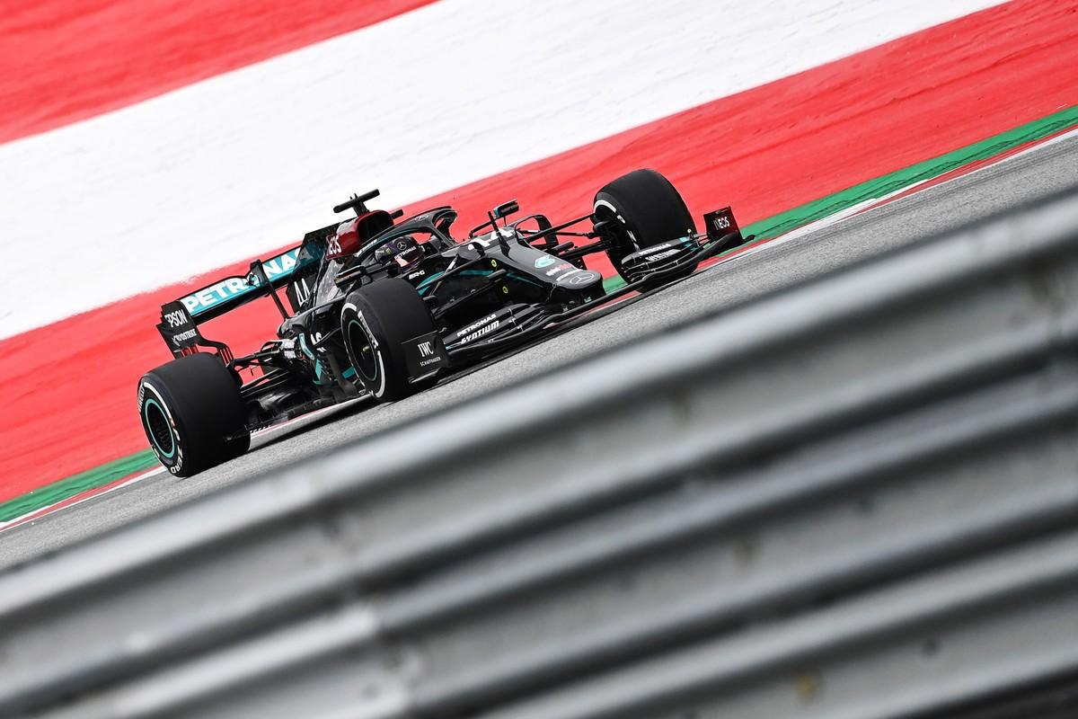 GP da Áustria: Hamilton lidera dobradinha da Mercedes no primeiro treino da F1 2020 – globoesporte.com