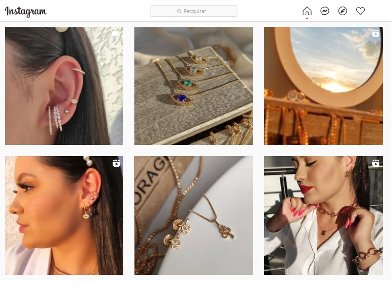 Saiba como melhorar conteúdo para Instagram de semijoias