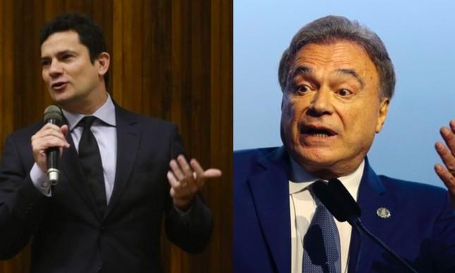 Serio Moro e Álvaro Dias