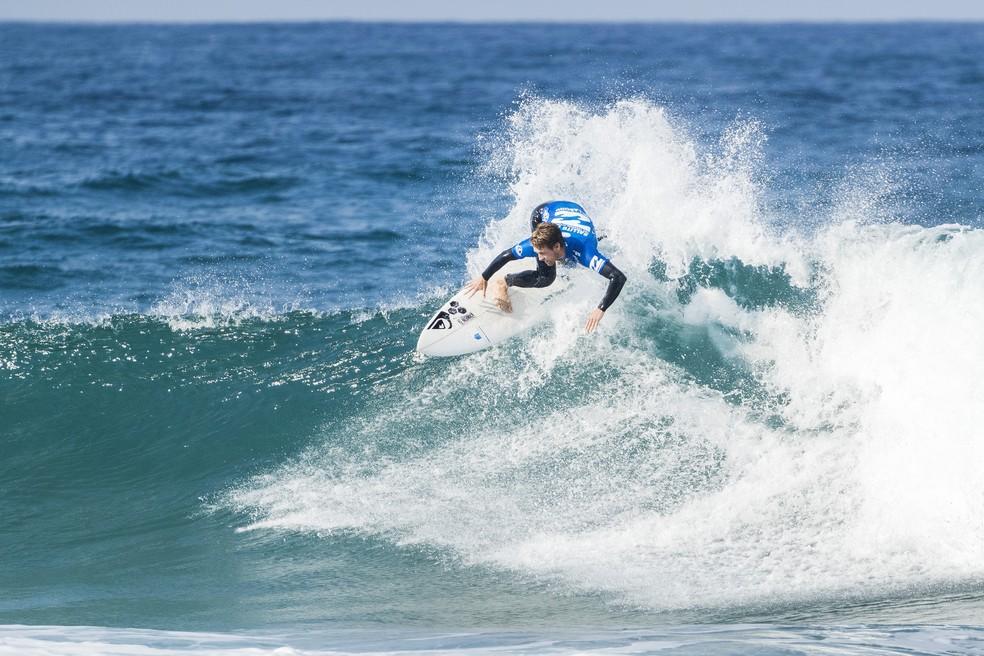 Jessé Mendes (SP) no QS 10000 em Ballito na África do Sul (Foto: WSL)