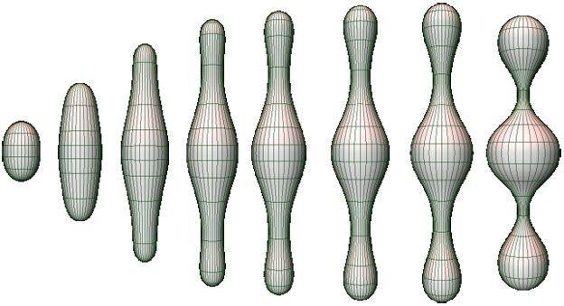 Fluxo de Ricci, acima em 2D, foi usado por Perelman para encontrar suas respostas (Foto: CBM)
