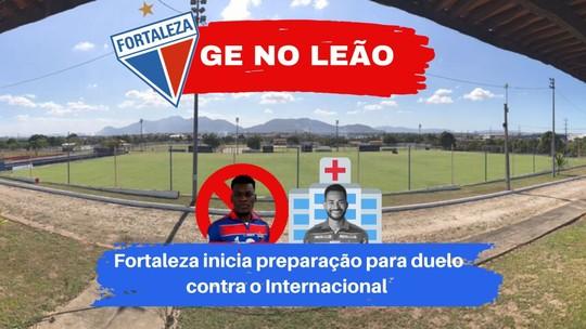 Sem Jackson, Fortaleza inicia preparação para confronto contra o Internacional