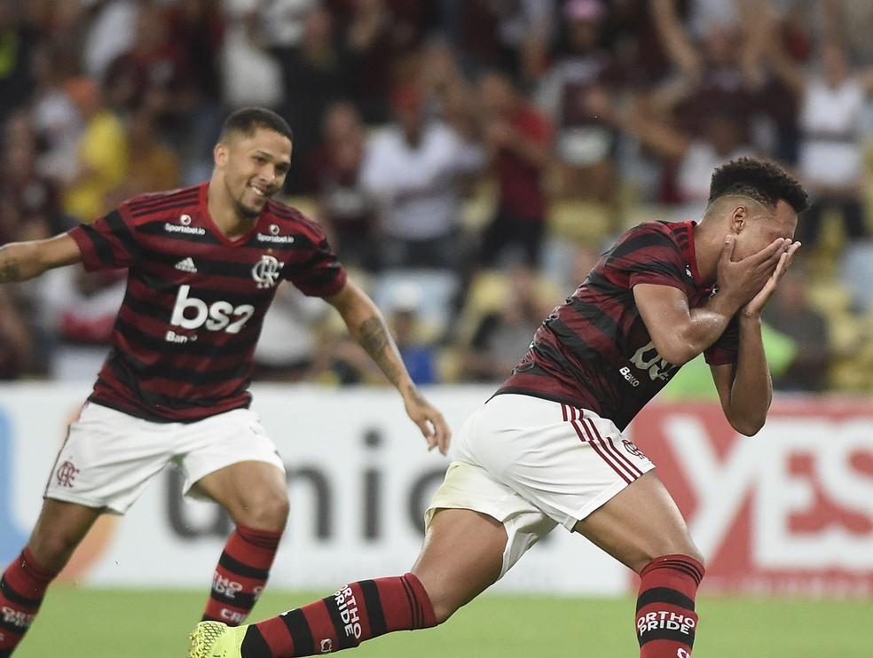 Vitor Gabriel Rodrigo Muniz Flamengo Volta Redonda — Foto: André Durão