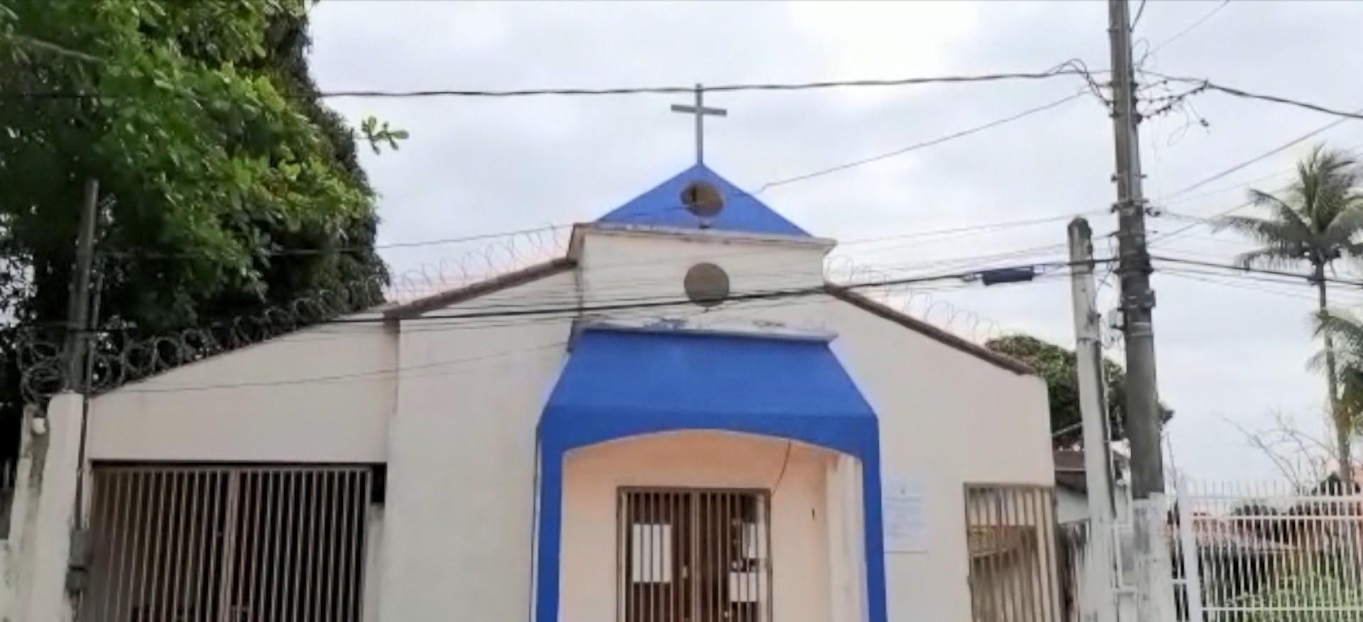 Criminosos furtam sino de igreja na Serra, ES