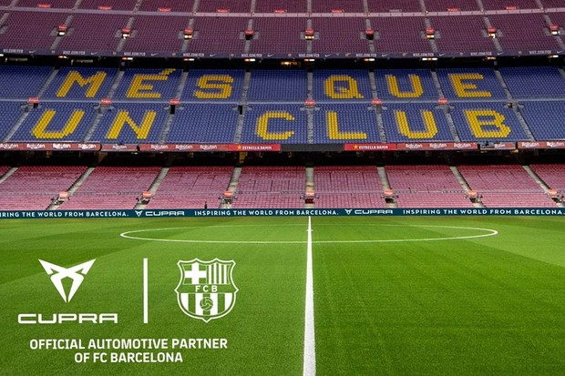Cupra Barcelona Camp Nou (Foto: Divulgação Cupra)