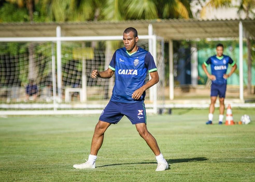 Régis será uma das atrações do Azulão nesta temporada — Foto: Morgana Oliveira, ASCOM CSA