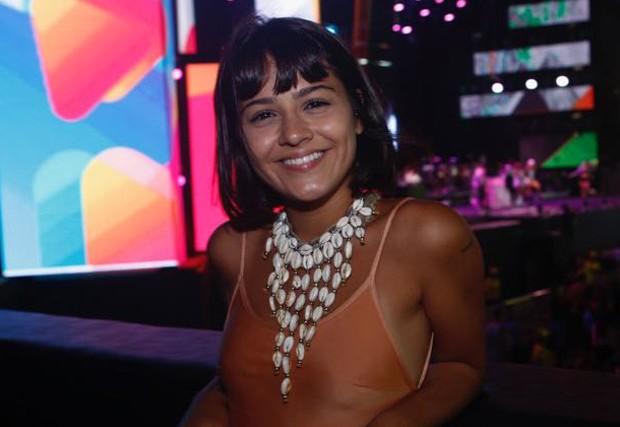 Giullia Buscacio no Festival da Virada (Foto: Ricardo Cardoso e Icaro Cerqueira/QUEM)