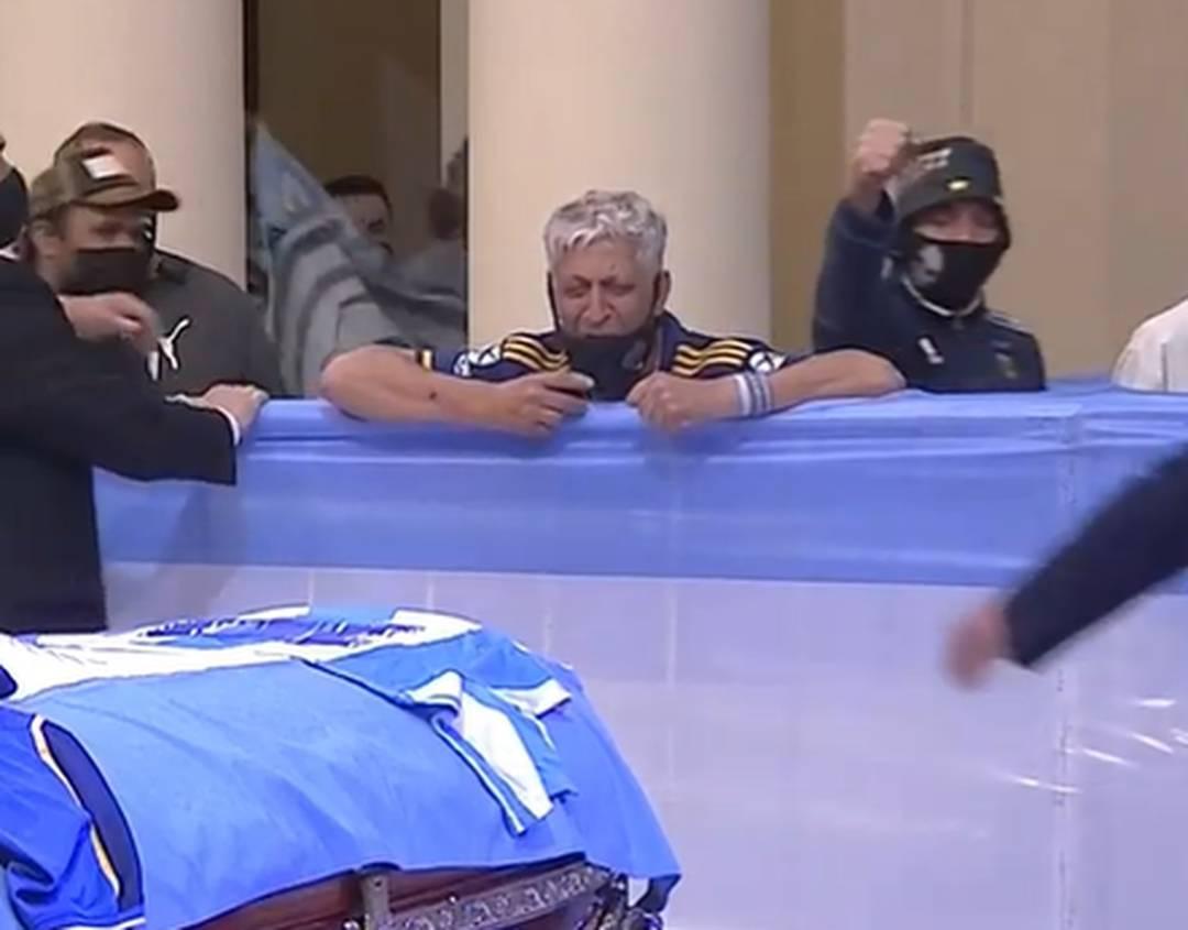 Velório de Maradona