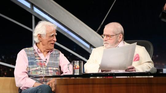 Ziraldo conta reação ao saber que seria último entrevistado do 'Programa do Jô': 'Levei um susto'