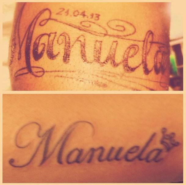Vitinho Tatuagem (Foto: Reprodução/Instagram)