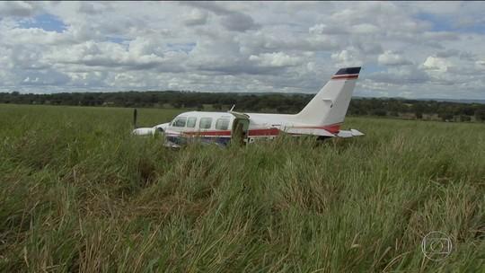 Pane seca causou queda de avião com Huck e Angélica, diz Aeronáutica