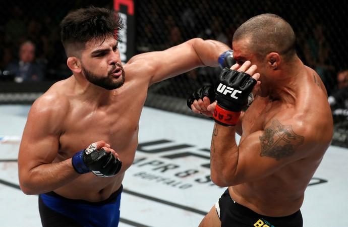 Vitor Belfort e Kelvin Gastelum UFC Fortaleza (Foto: Getty Images)