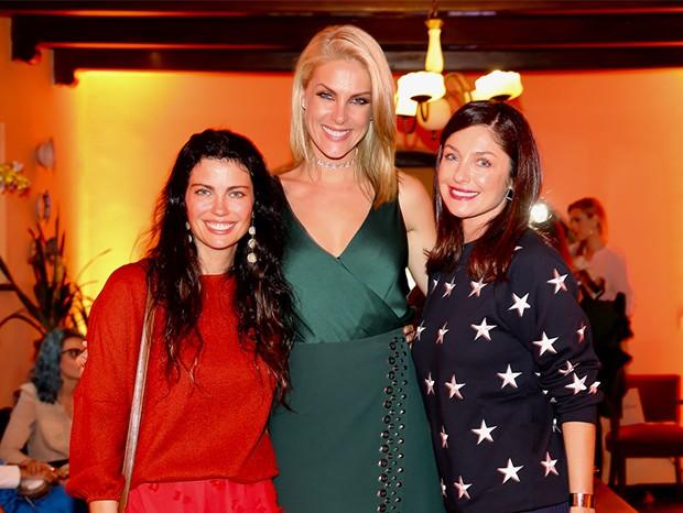Adriana Bittencourt, Ana Hickmann e Camila Guebur (Foto: Manuela Scarpa/Brazil News)