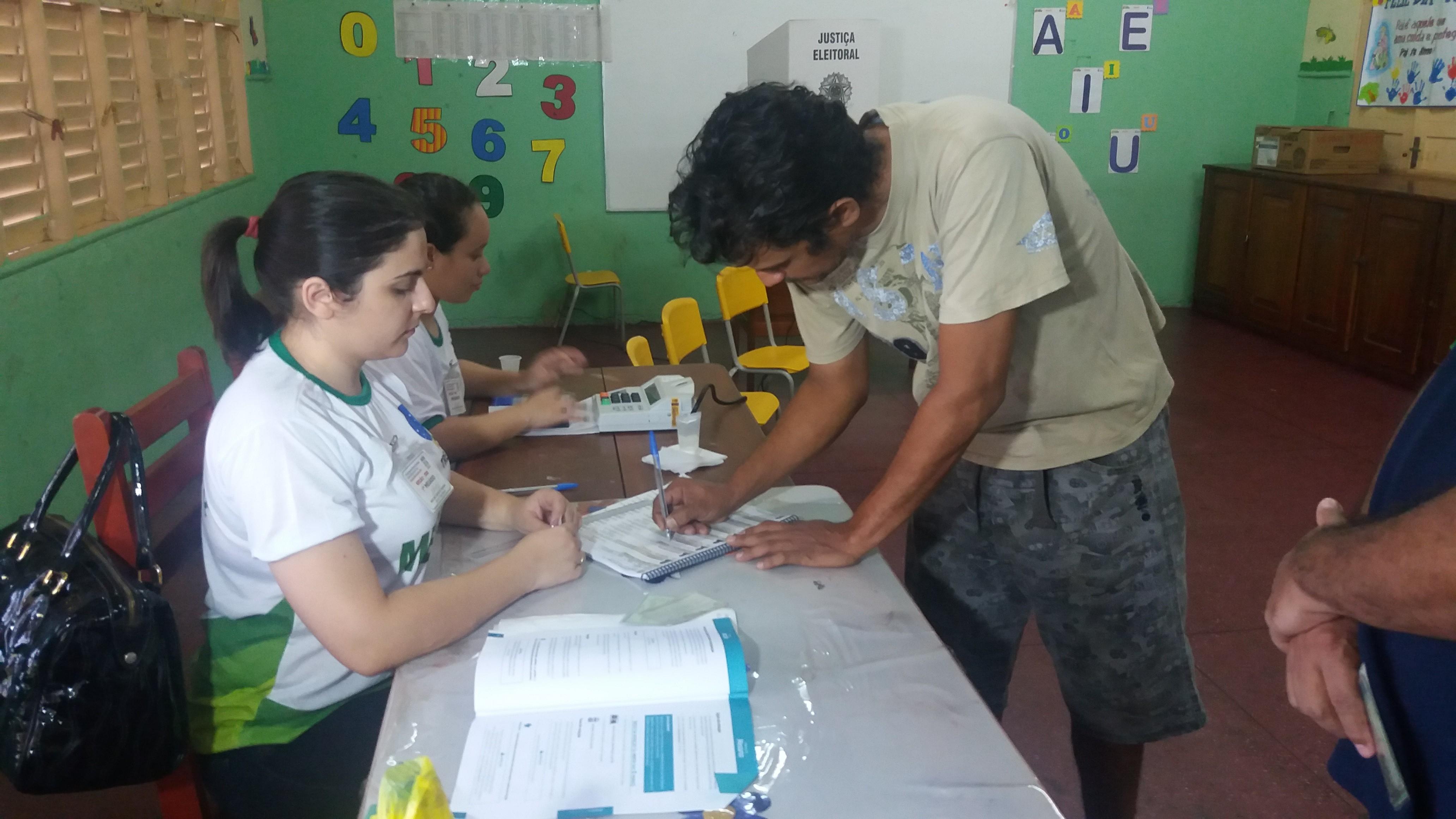 Justiça Eleitoral do AP abre 50 vagas para mesários voluntários no 2º turno das Eleições 2018