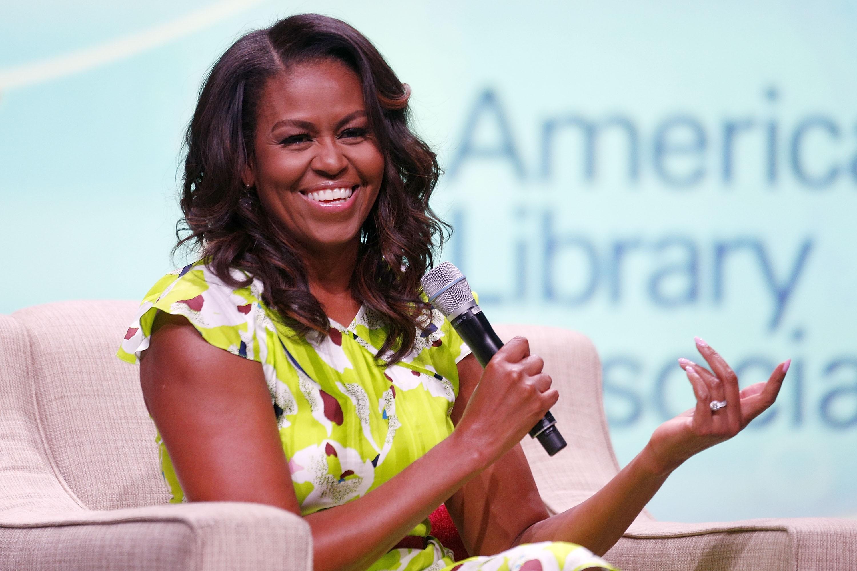 Michelle Obama cuida dos cabelos com Johnny Wright há quase 10 anos (Foto: Getty Images )