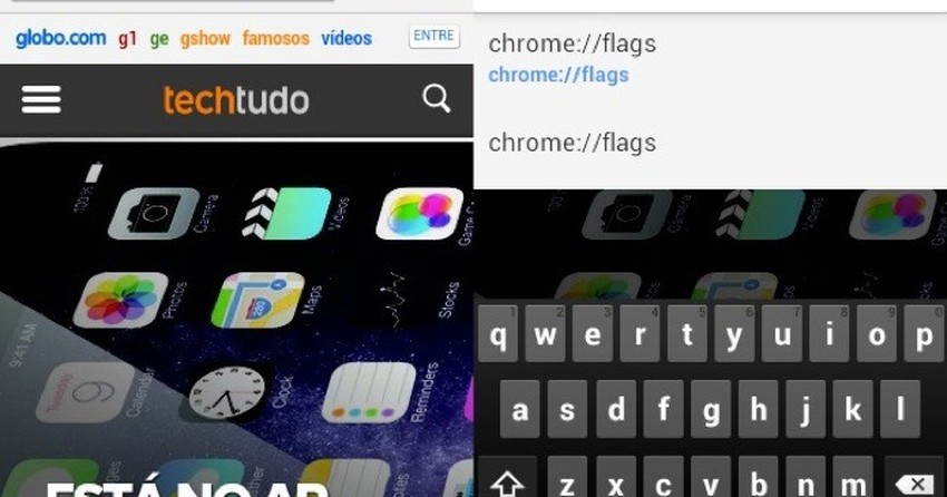 Como deixar a barra de endereços do Chrome para Android mais inteligente?