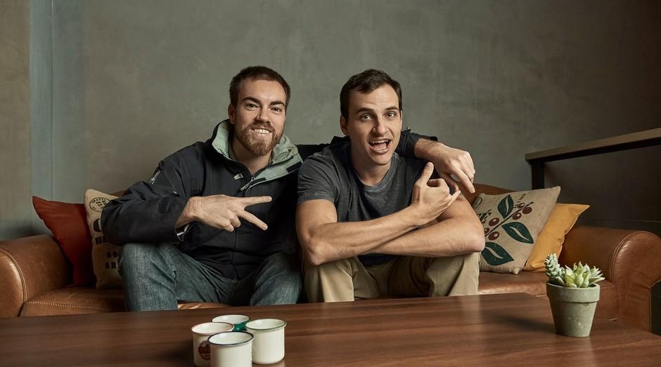 Vinicius da Justa e Alexandre Messina, fundadores da Pedala (Foto: Divulgação)