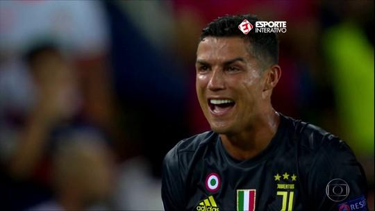 CR7 é expulso em sua estreia pela Juventus na Liga dos Campeões