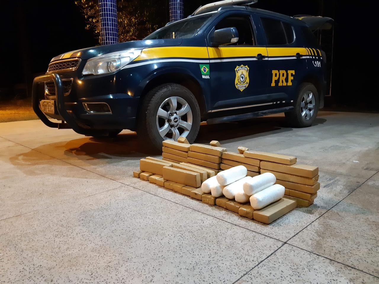 PRF apreende carregamento de droga na BR-010 no Maranhão - Notícias - Plantão Diário