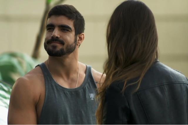 Na quarta (4), Rock (Caio Castro) vencerá sua luta contra Paixão (Duda Nagle) (Foto: Reprodução)