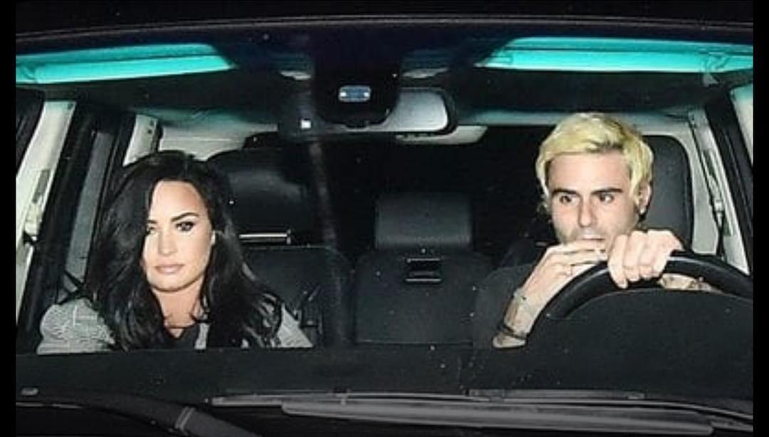 Demi Lovato e Henry Levy (Foto: Reprodução Instagram)