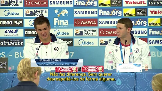 Atual time dos EUA mostra confiança no Mundial de Esportes Aquaticos em Budapeste