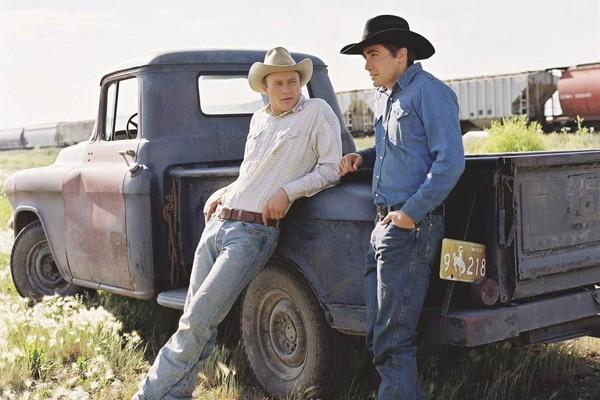 Jack e Ennis, os protagonistas de O Segredo de Brokeback Mountain (2005) (Foto: Divulgação)
