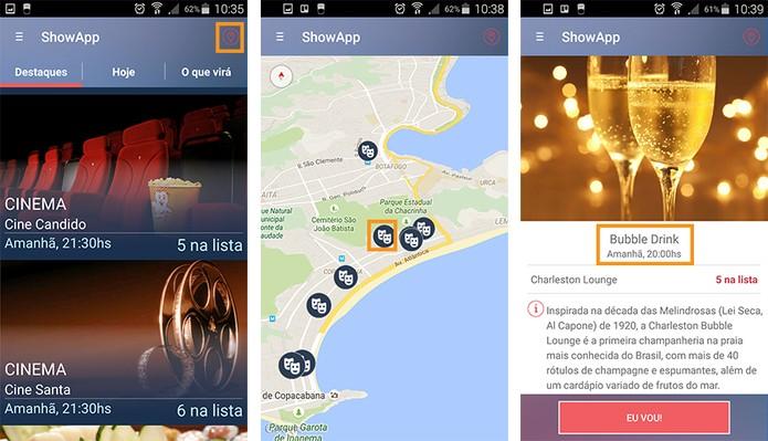 Confira o mapa e o resumo do evento (Foto: Reprodução/Barbara Mannara)