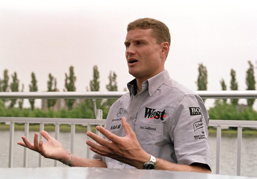 David Coulthard se mostra otimista e vê corridas retornando em breve — Foto: Getty Images