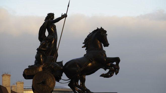 Há 2000 anos, Boudicca liderou uma revolta e quase derrotou os poderosos romanos no que hoje é a Inglaterra (Foto: Getty Images via BBC News)