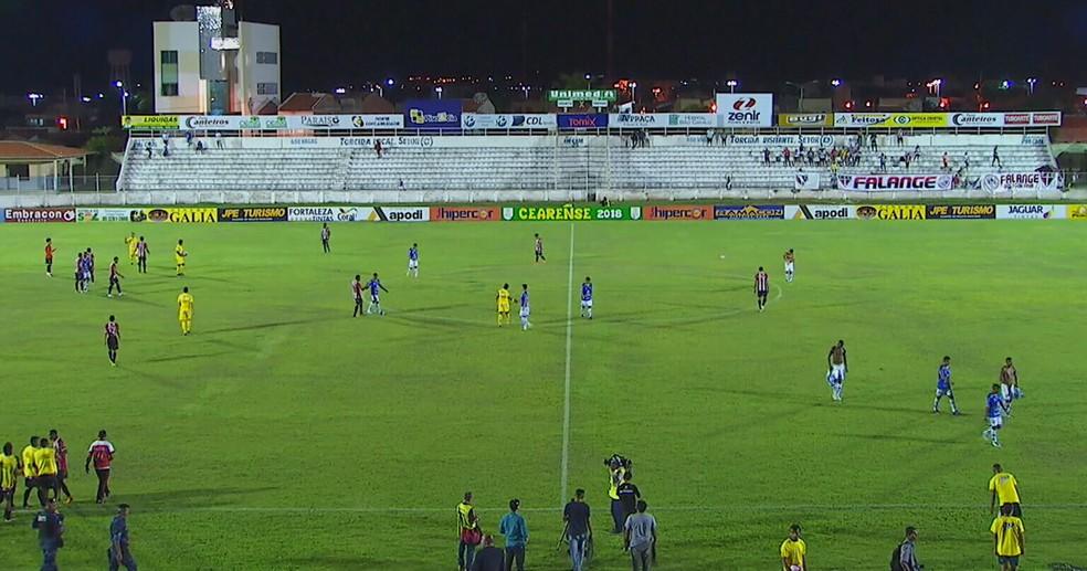 Iguatu e Ferroviário empatam em primeira rodada da segunda fase do Campeonato Cearense (Foto: Reprodução)