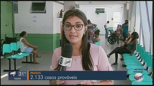 Sul de minas já tem 7,3 mil casos prováveis de dengue registrados, diz Saúde de MG