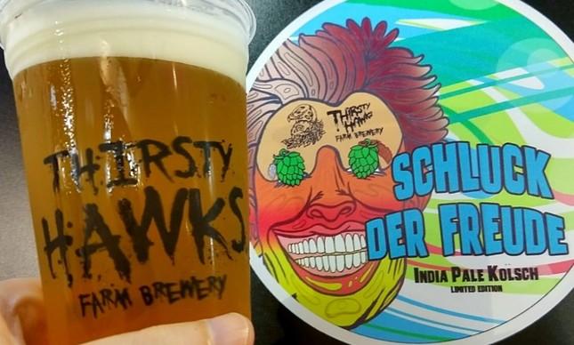 A Thirsty Hawks é um dos rótulos que estará no Gastro Beer